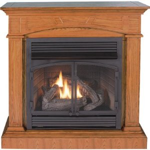 Procom Compact Vent Free Dual Fuel Fireplace Review