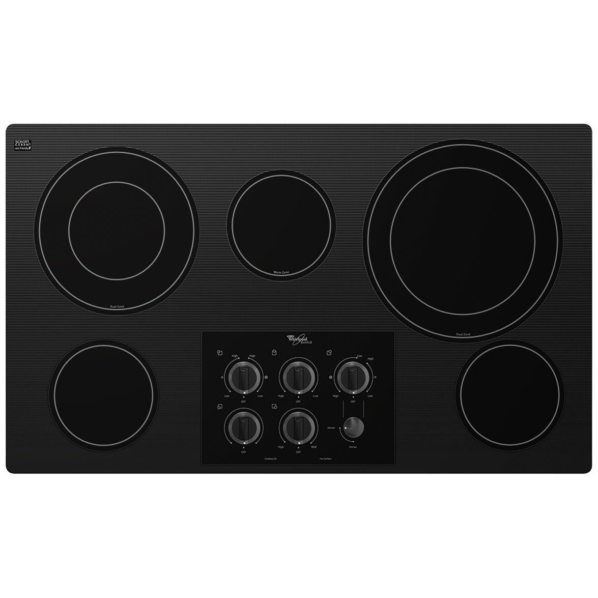 Whirlpool Electric Glass Cooktop ~ Whirlpool g ce xb glass cooktop review houseandgardentech