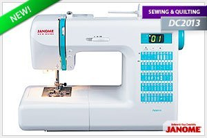 Janome DC2013 Computerized Sewing Machine Janome DC2013 Review