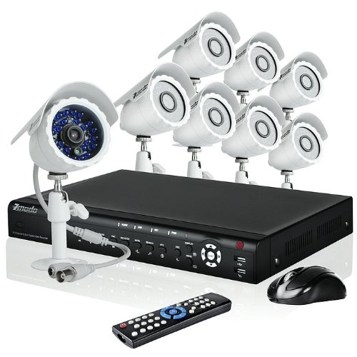 Zmodo 16CH H.264 Video DVR Security Surveillance Camera System