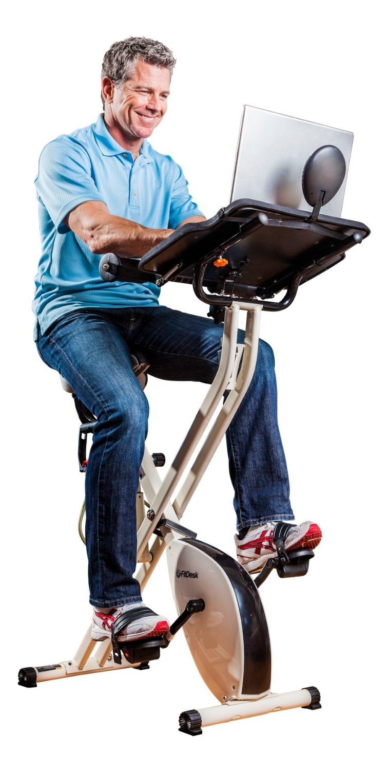 FitDesk X1 Folding Exercise Bike