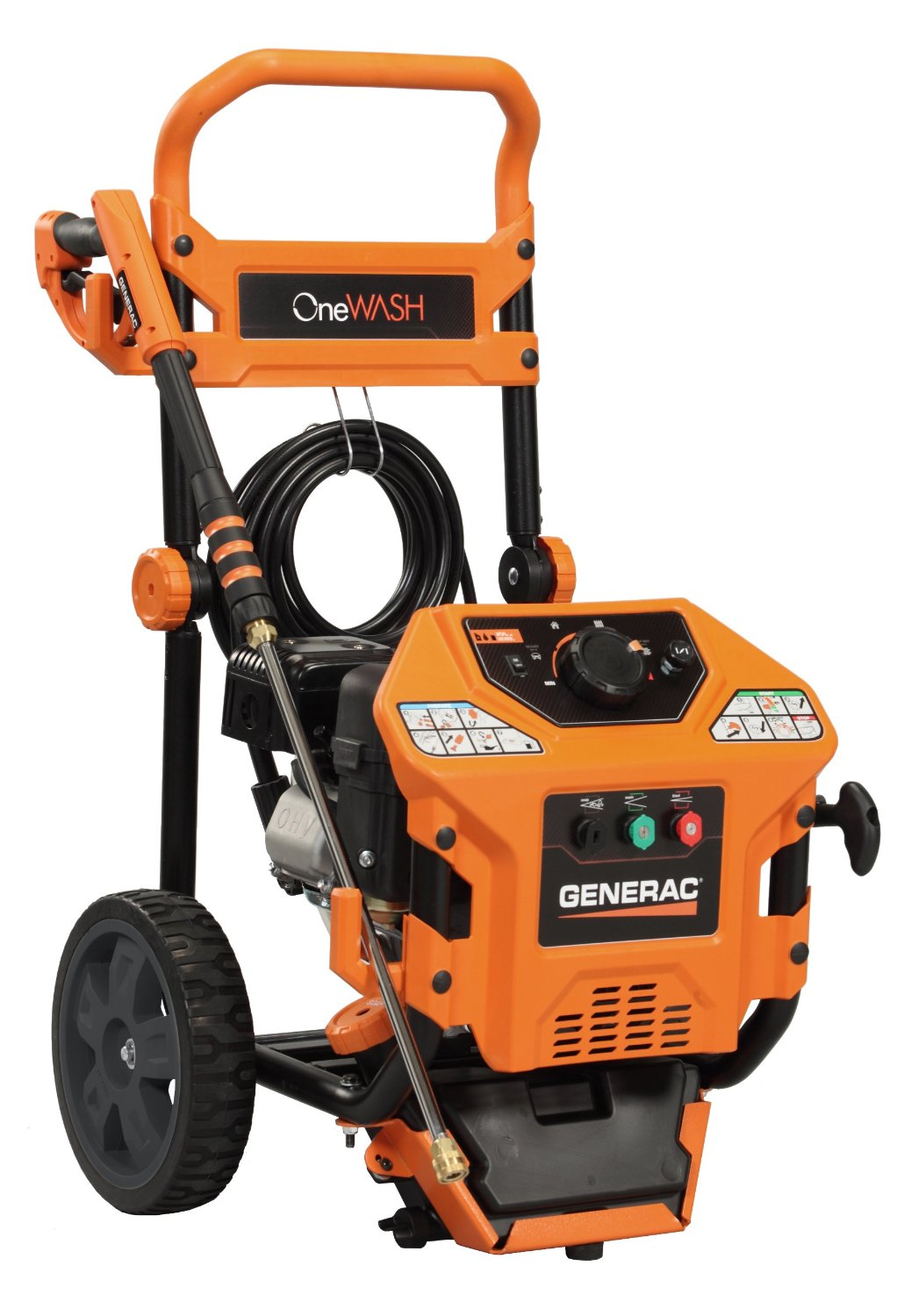 Generac 6412 One Wash 4 In 1 Gas Power Washer Review
