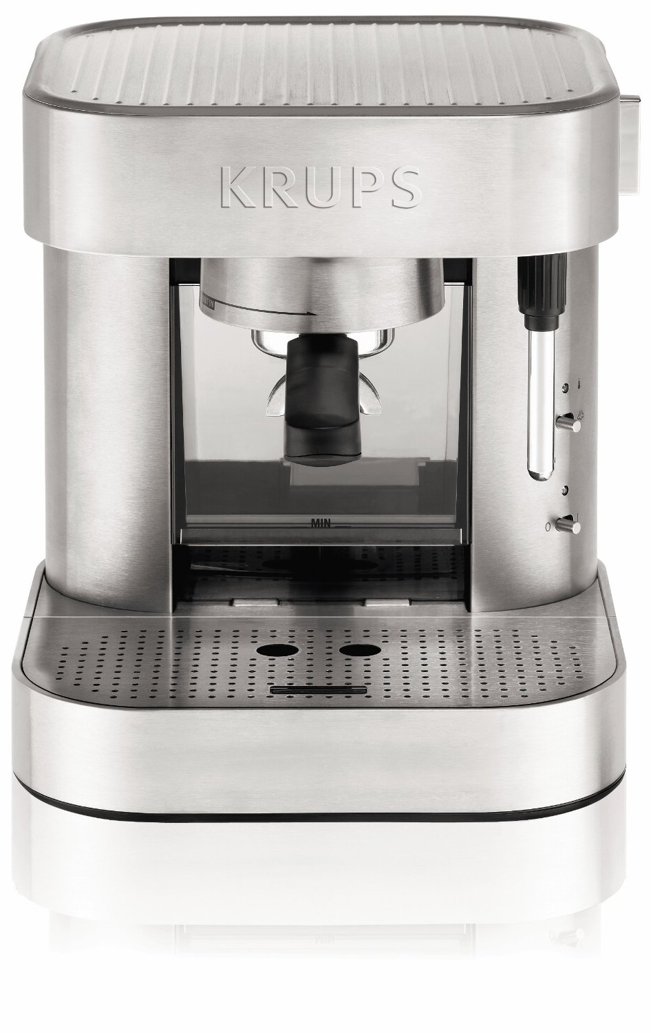 krups xp601050 manual pump espresso machine review. Black Bedroom Furniture Sets. Home Design Ideas