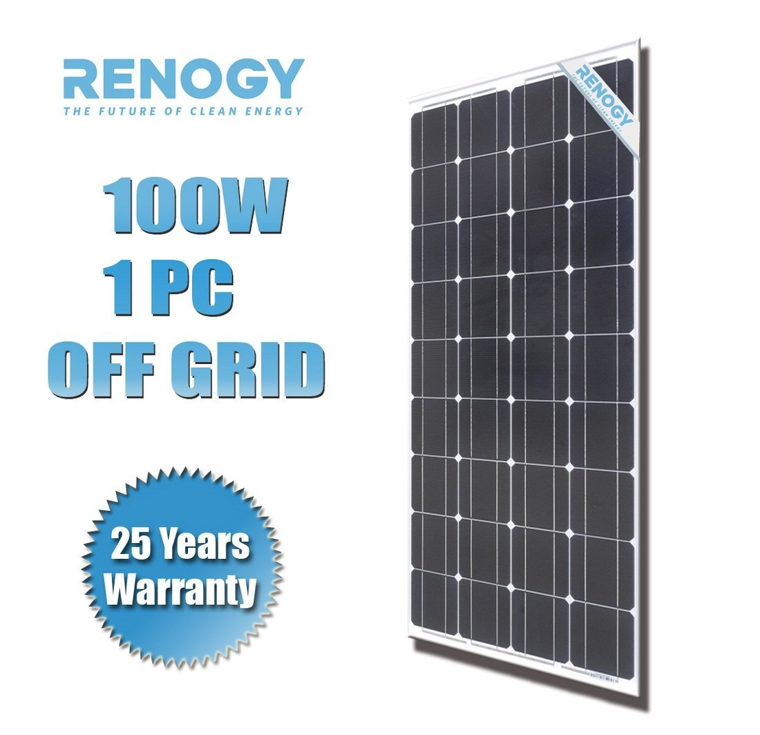 Renogy 100 Watt Photovoltaic Pv Solar Panel Review