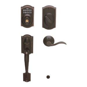 Schlage FE365 V CAM 716 ACC Camelot Keypad Deadbolt