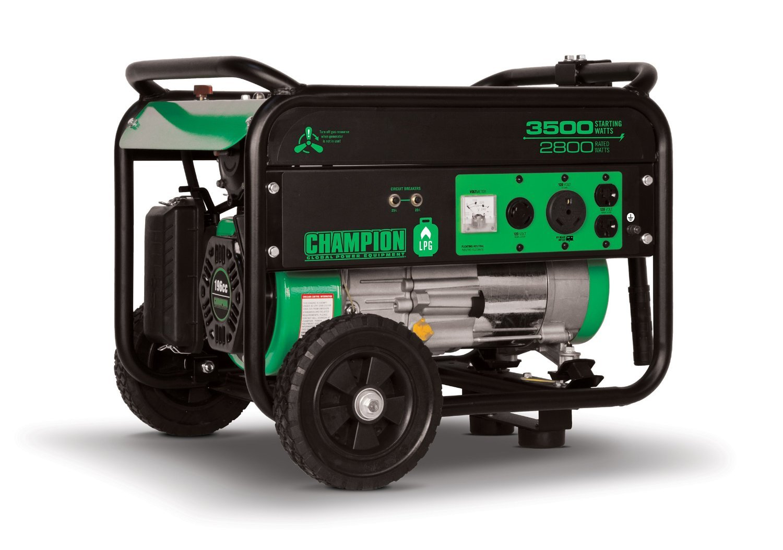Champion Power Equipment 76530 LP/Propane Portable