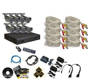 Q-See QT228-8B5-5 surveillance system package - an amazing deal!