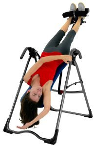 Teeter Hang Ups SR-350 - comfort through the range of inversion.