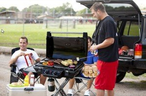 The Coleman NXT 2000012520 Portable Grill - the perfect tailgating grill!