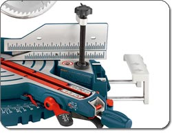 Bosch 5312 Slide Compound Miter Saw - high quality slider and guides for consistent cutting.