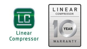 LG LMX30995ST - backed by a 10 year warranty on the compressor!
