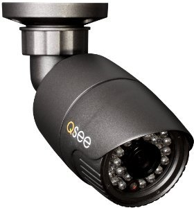 Q-See QT718-8F4-2 8-Channel Surveillance System comes with 6 high-def bullet cameras